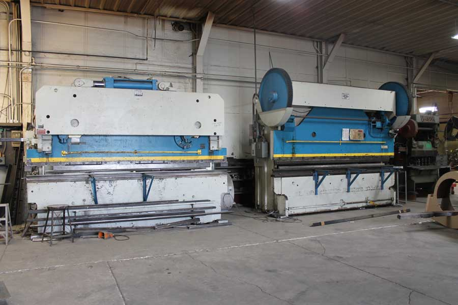 Brake Press used for forming metal